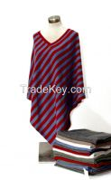 Women's 100% Cashmere Poncho - Knitted