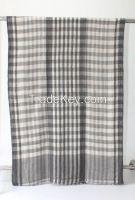 Scarf - Grey-White squares