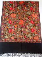 Kashmiri Multicolor Embroidery Shawls on Fine wool