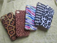 Leopard design PC phone case for Iphone 4G/4S