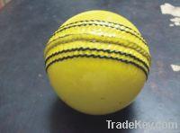 Yellow Indoor Cricket Ball