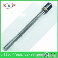 immersion heater with flange detactor