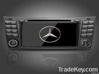 Mercedes-Benz E class W211 car dvd player gps