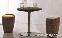 cheap rattan bar furniture