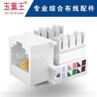 Network plug/panel/modural converter/distribution frame/module