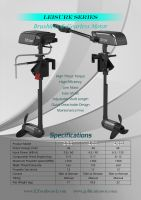 Electric outboard motor 3HP-10HP for fishing boat
