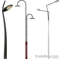 light pole, light post, lamp pole