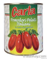 Whole Peeled Tomatoes in Tomato sauce Italy New Crop available