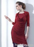 Bolero Draped Dress