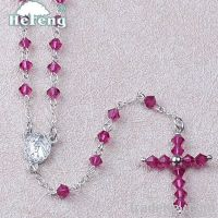 rosary, Crystal Rosary/Child Rosary, fashion crystal rosary