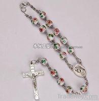 Car Rosary, cloisonne beads car rosary, rosary bracelets
