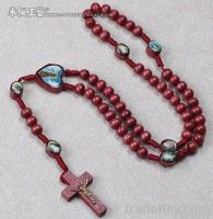 Wooden Beads Cord Rosary/Cord Rosary Necklace