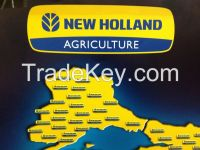 NEW HOLLAND TRACTOR-COMBINE