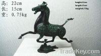 bronze antique imitation: Horse Treading on Swallow