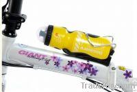 Cycling Bicycle Bike 750ml Sports Water Bottle yellow