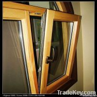 Wood Aluminum Cladding Exterior Window & Door