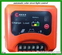 automatic solar street light control 10A 12V