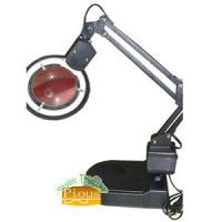 LED Foldable Table Lamp with magnifying glass