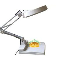 Foldable Working Table Lamp with 127mm magnifier