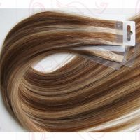 Tape Hair Extensions 20/40 pieces,Human Remy Tape In Skin Weft,#1B,#2,#4,#6,#8,#24,#27,#33,#60,#613,#99J,#10/24,#8/613,#18/613