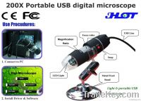 HOT 200X portable USB digital microscope - Manufacturer offer