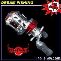 7.0 :1 BAT100 5+1BB Red Bait Casting Reel Fishing reel