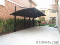 Polycarbonate carport canopy fence for car in 2012 newest products