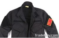 Vertical Collar Fighting Suit Training Clothing Uniform