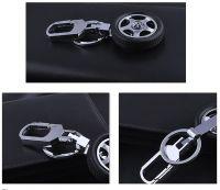 Custom Logo Tyre Shape Keychain