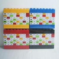 Changeable DIY Perpetual Calendar,DIY educational Building block,Plastic puzzle DIY calendar