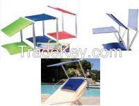 cush n shade, cushion and shade, pillow and shade, beach pillow, inflatable pillow