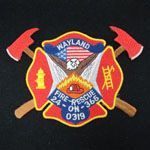 Fire Rescue Embroidery Fabric Patch, Badge (EMB33)