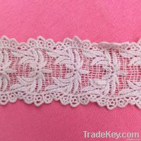 Custom embroidery lace