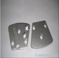Epoxy removal grinding pads