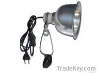 5.5 inch Mini deep dome Reptile clamp lamp/reptile heating light