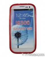 """S"" Type TPU Back Case Cover for Samsung Galaxy S3 I9300"