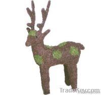 christas rattan deer