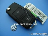 High quality auto remote case for VW key, 2 buttons remote key blank