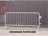 crowd control barricade