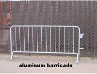 crowd control barricade