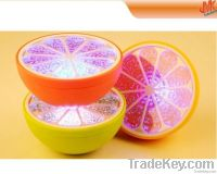 Colorful orange light , floating LED Lamp, Waterproof lamp