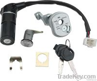 Motorcycle spare parts ignition switch and lock set Honda 100