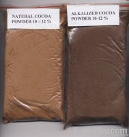 Natural / Alkalized Cocoa Powder 10-12 %