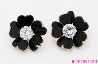 Delicate Stud Earrings Elegance handmade Flower Shape Stud Earrings