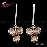 Fashion Design Drop Earrings Jewelry with Water Drop Crystal
