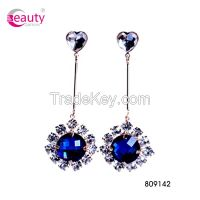 Elegant Fashion Pendant Long Rhinestone Drop Earring For Women