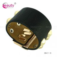 Charming Fashion Bangles Leather Bracelets Jewelry For Fashion Plepeo Item ID #BB411