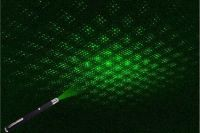 hot sales 100mw green laser pointer with star