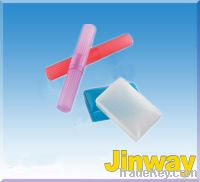 Recycled Plastic for Toothbrush and soap Dish