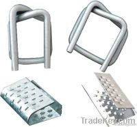 Wire buckles, metal seals and other packaging accessories